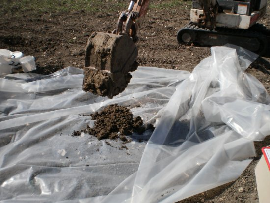 scavo terreni